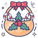 Christmas Basket Icon