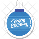 Bauble Christmas Decorations Icon