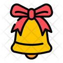 Christmas Bell Bell Bow Icon