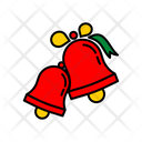 Color Bells Christmas Icon