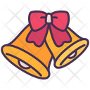 Ribbon Bell Decoration Icon