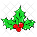Christmas Berries Icon