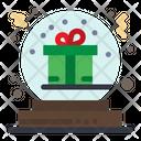 Christmas Bowl Gift Bowl Gift Ball Icon