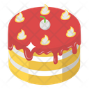 Christmas Cake Cake Sweet Cake Icon
