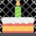 Delicious Cake Christmas Icon