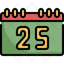 Calendar Christmas Day Icon