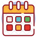 Christmas Calendar Reminder Daybook Icon