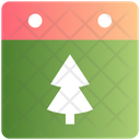 Tree Event Christmas Tree Icon