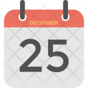 Christmas Calendar Day Icon
