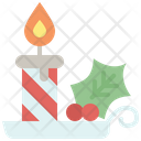 Christmas Candle Candle Night Icon