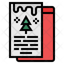 Christmas Card Greeting Card Card Icon