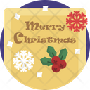 Christmas Seasonal Greetings Xmas Icon