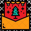 Christmas Card Greetings Xmas Icon