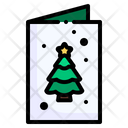 Christmas Card Mail Card Icon