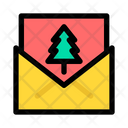 Christmas X Mas Card Icon