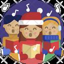 Christmas Sing Carols Icon