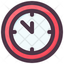 Christmas Clock Icon