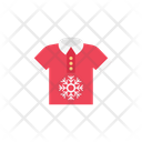 Shirt Snowflake Christmas Icon