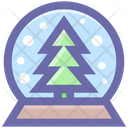 Pine Tree Christmas Icon