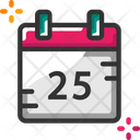 Calendar Christmas Date Event Icon