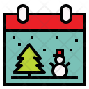 Christmas Day Calendar Icon