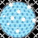 Disco Ball Christmas Bauble Xmas Icon