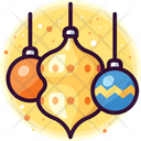 Balls Bauble Decoration Icon