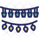 Christmas Decorations Garlands Icon