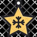 Christmas Decoration Star Icon