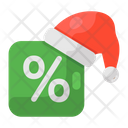 Christmas Discount Icon