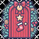 Christmas door Icon