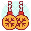 Christmas Earrings Icon