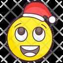 Christmas Emoji Christmas Expression Emotag Icon