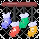 Christmas Event Sale Icon