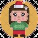 Kid Child Female Icon
