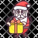 Santa Claus Santa Gift Christmas Icon