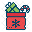 Christmas Gift Bag Icon
