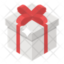 Christmas Gift Surprise Wrapped Gift Icon