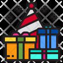 Gift Box Party Celebration Icon