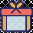 Christmas Gift Box Celebrations Icon