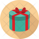 Gift Box Anniversary Icon