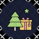 Christmas Gift Tree Christmas Christmas Tree Icon