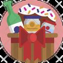 Christmas Wine Icecream Icon