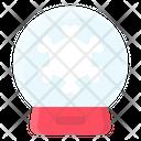 Ball Christmas Glass Icon