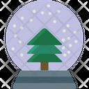 Christmas Globe Snow Dome Snow Globe Icon