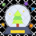 Christmas Globe Icon