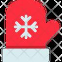 Christmas Glove Santa Claus Icon