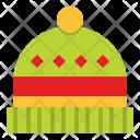 Christmas Beanie Warm Icon