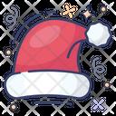 Christmas Hat Santa Cap Ornament Icon