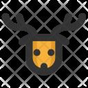 Christmas Holiday Deer Icon